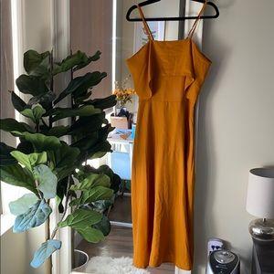 NWT marigold dress